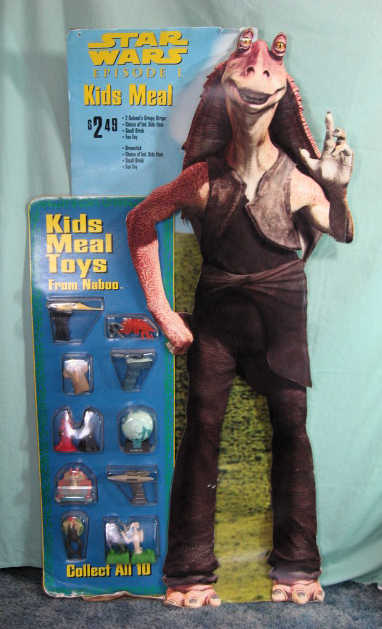 Kfc Toy Food : Star wars kids meal toys kfc quot stand up store display ebay